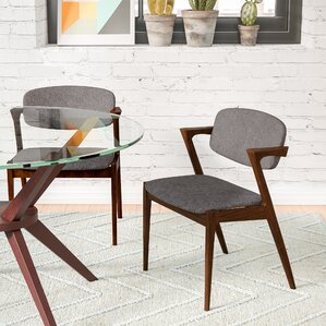 mid-century modern kitchen & dining chairs you'll love   wayfair