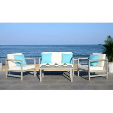 Horwitz 4 Piece Lounge Seating Group with Cushion