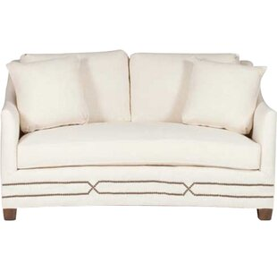 Baldwin Curved Loveseat