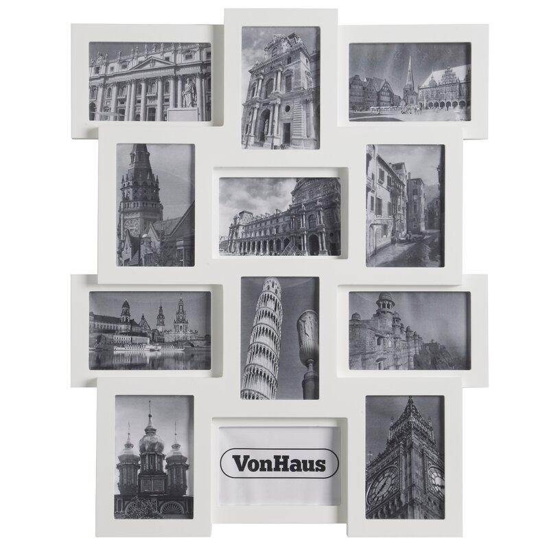 VonHaus 12 Piece Collage Picture Frame Set & Reviews | Wayfair