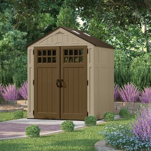 D Plastic Tool Shed