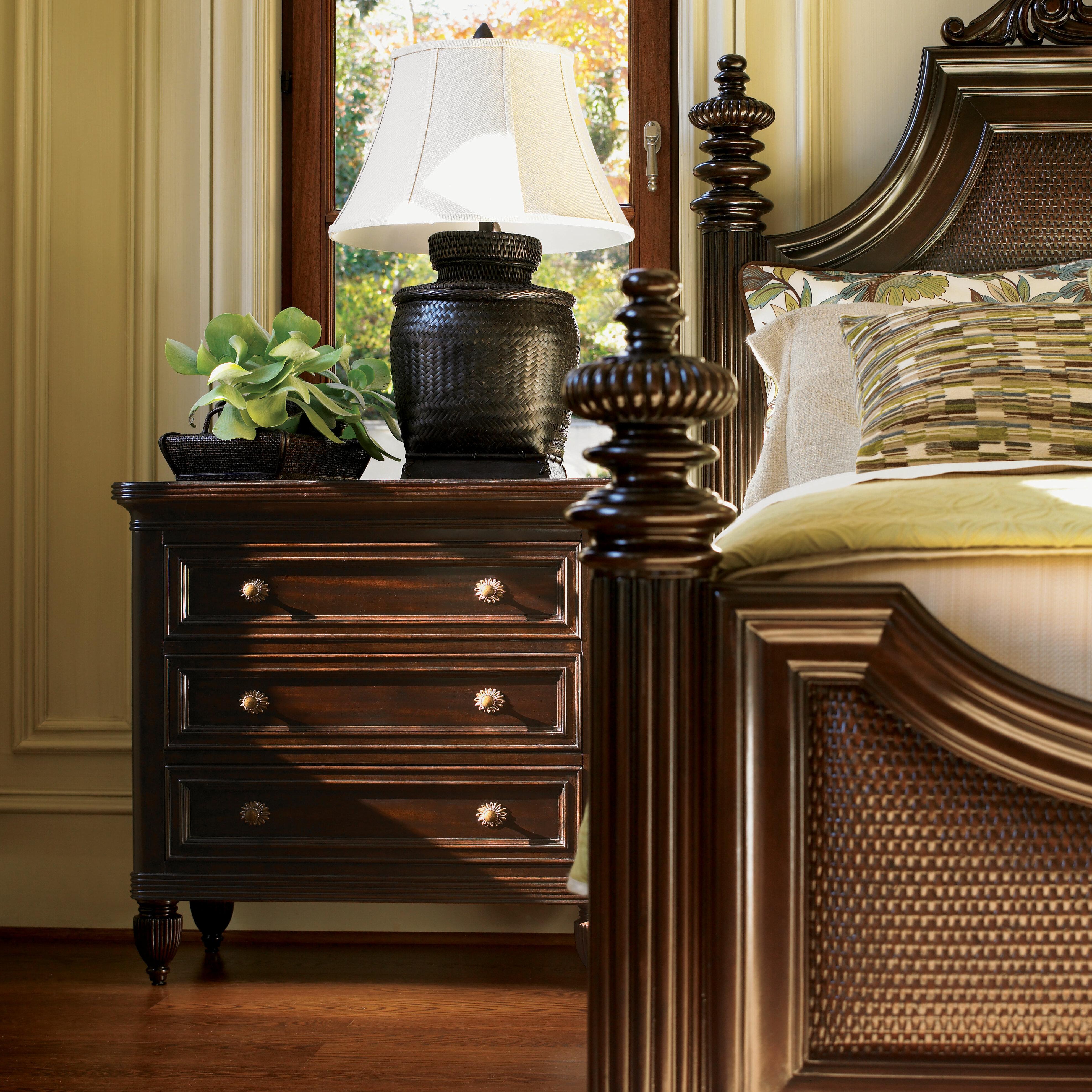Tommy Bahama Home Royal Kahala 3 Drawer Bachelor S Chest Reviews Wayfair