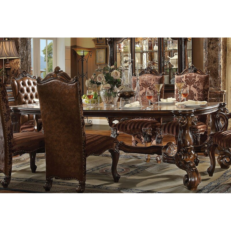 AJ Homes Studio Versailles Dining Table Wayfair - Table pads columbus ohio
