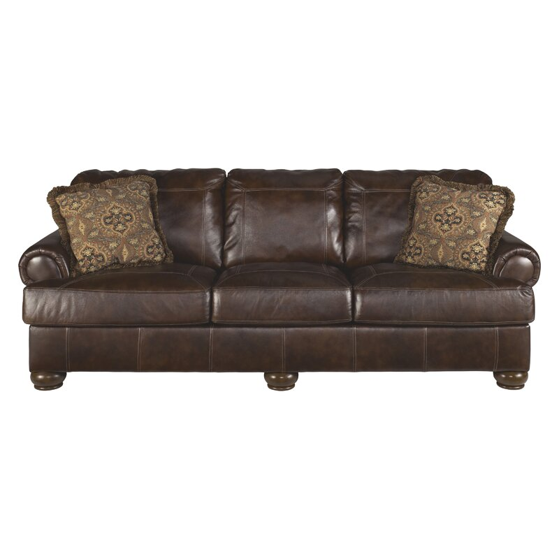 Bannister Leather Sofa