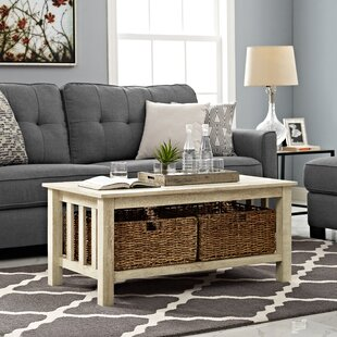 Farmhouse Rustic Coffee Tables Birch Lane - Coffee and end table sets with storage