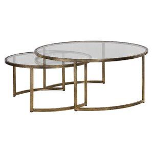 Nicklas 2 Piece Nested Coffee Table Set by Brayden Studio