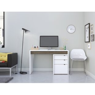 Alayna Reversible Desk With File Cabinet