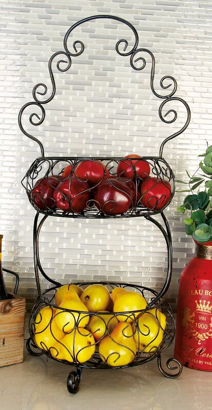 Metal 2 Tiered Stand