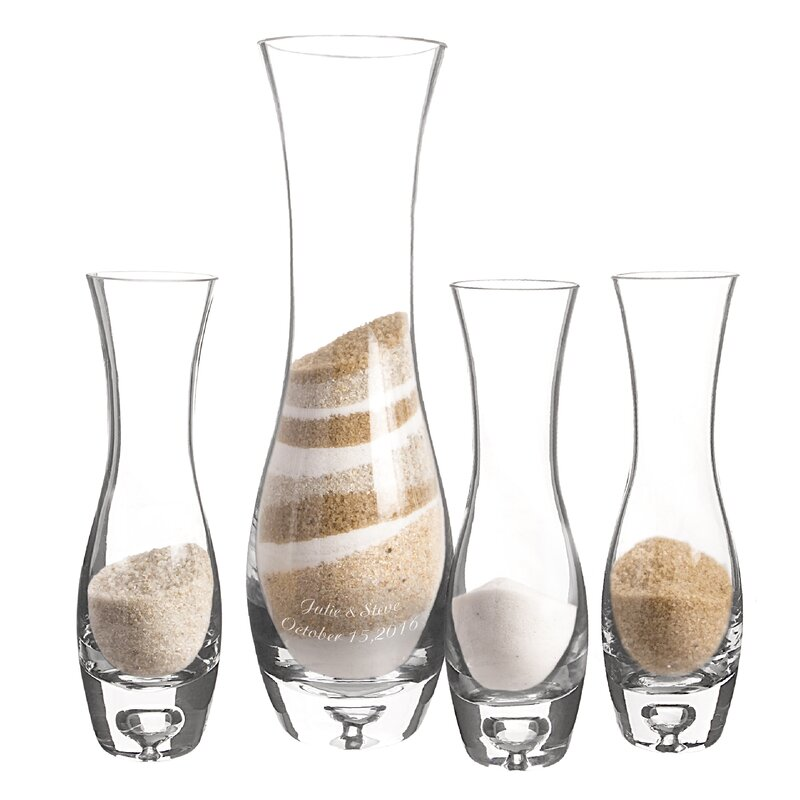 Cathys Concepts Wedding Sand Ceremony Unity Sand Vases Wayfair