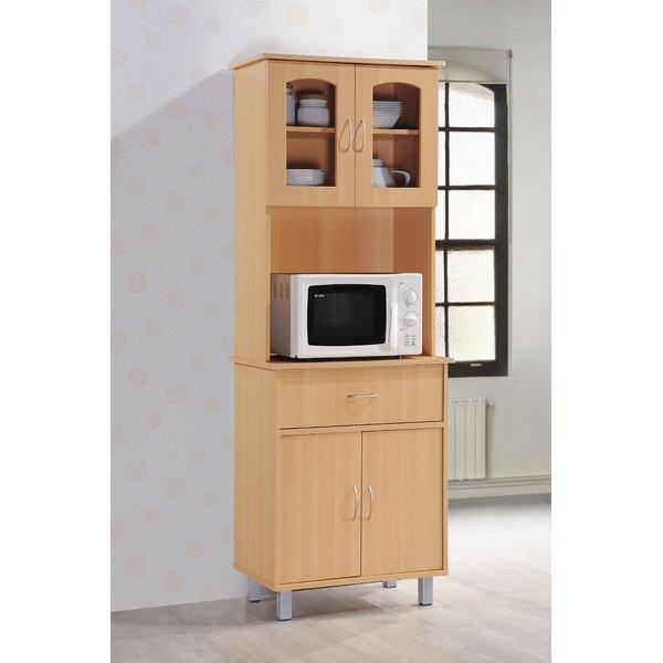 Andover Mills Reynolds Kitchen Island China Cabinet U0026 Reviews | Wayfair