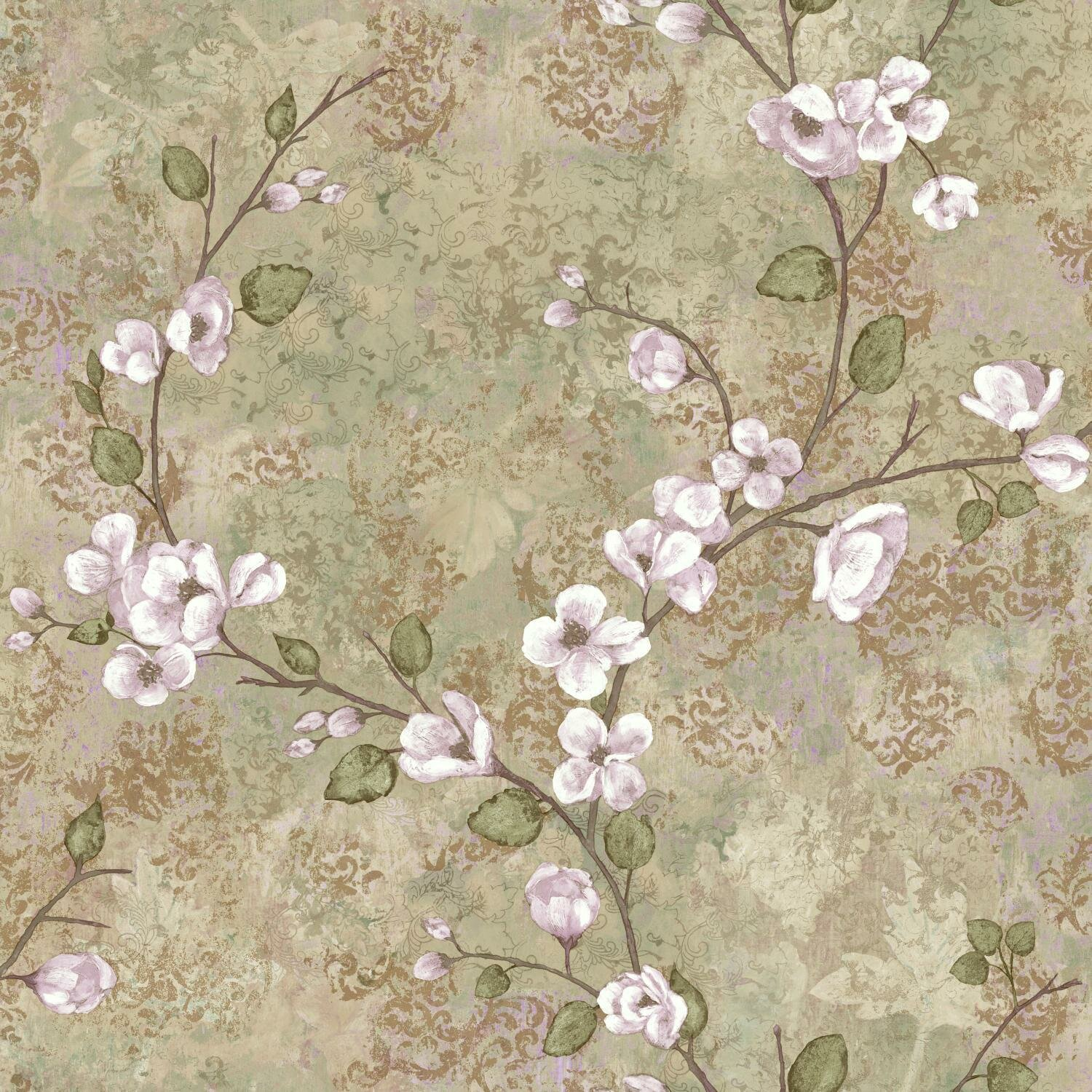 Charlotte 33 X 20 5 Dogwood Floral Wallpaper Roll Reviews
