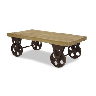 Harney Table With Wheels Coffee