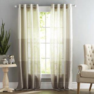 Lush Decor Curtains Gray