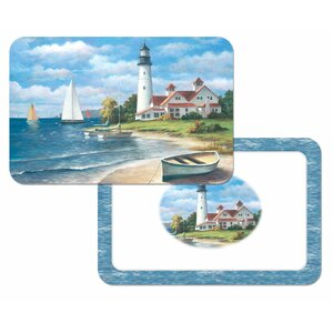 Reversible Wipe Clean Plastic Placemat (Set of 4)