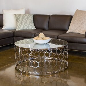 Bostic Round Coffee Table by Willa Arlo Inte..