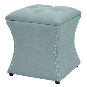 Mendes Upholstered Storage Ottoman by Three Posts