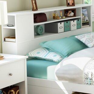 Bookcase Headboard Bedroom Set | Wayfair