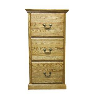 Hutchins 3 Drawer File Cabinet