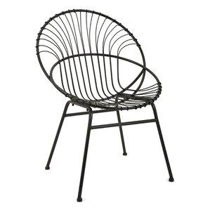 Florrie Reserve Iron Papasan Chair by Mistana