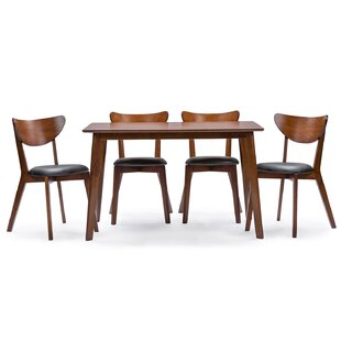 Serpens 5 Piece Dining Set