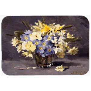 Spring Bouquet by John Codner Kitchen/Bath Mat
