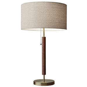 Wood Table Lamps You'll Love | Wayfair