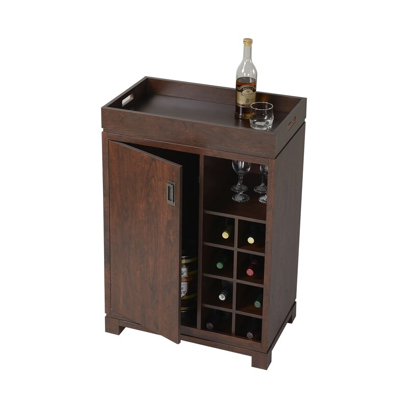 Nice Mercury Row Groff Bar Cabinet With Wine Storage U0026 Reviews | Wayfair Part 11