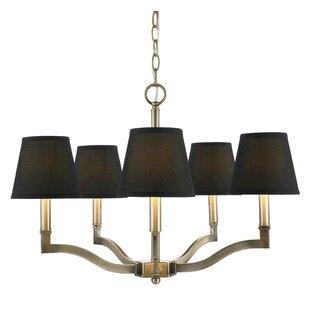 Black shade chandeliers joss main save aloadofball Images