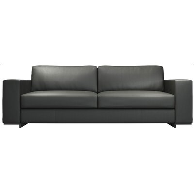 Modern Gray Leather Sofas Couches Allmodern