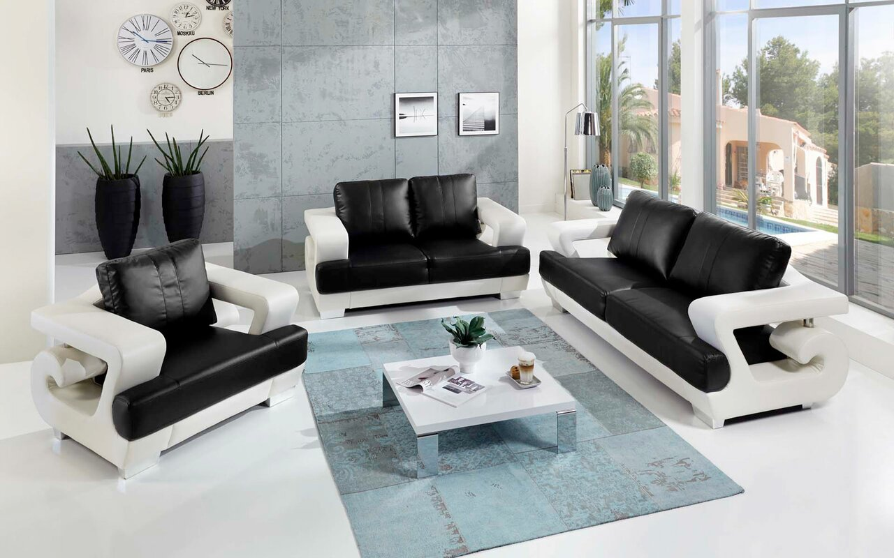 sam stil art m bel gmbh 3 tlg couchgarnitur alicante. Black Bedroom Furniture Sets. Home Design Ideas