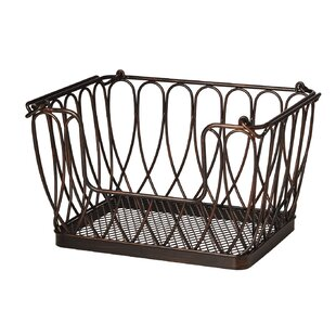 Loop Stacking And Nesting Metal/Wire Basket