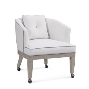 Dresden Barrel Chair With Casters