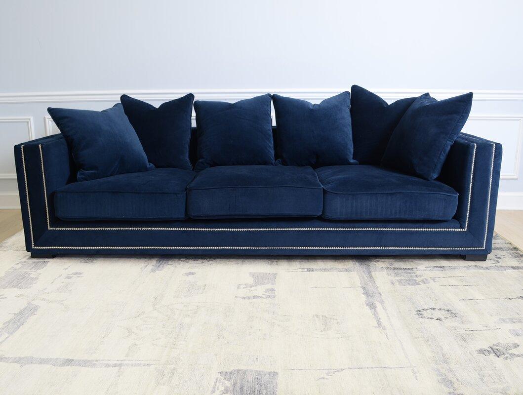 Velvet Sofa pasargad cooper velvet sofa | wayfair
