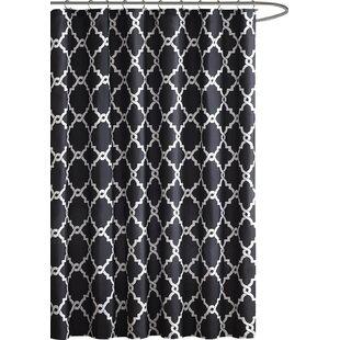 Black Shower Curtains You\'ll Love | Wayfair