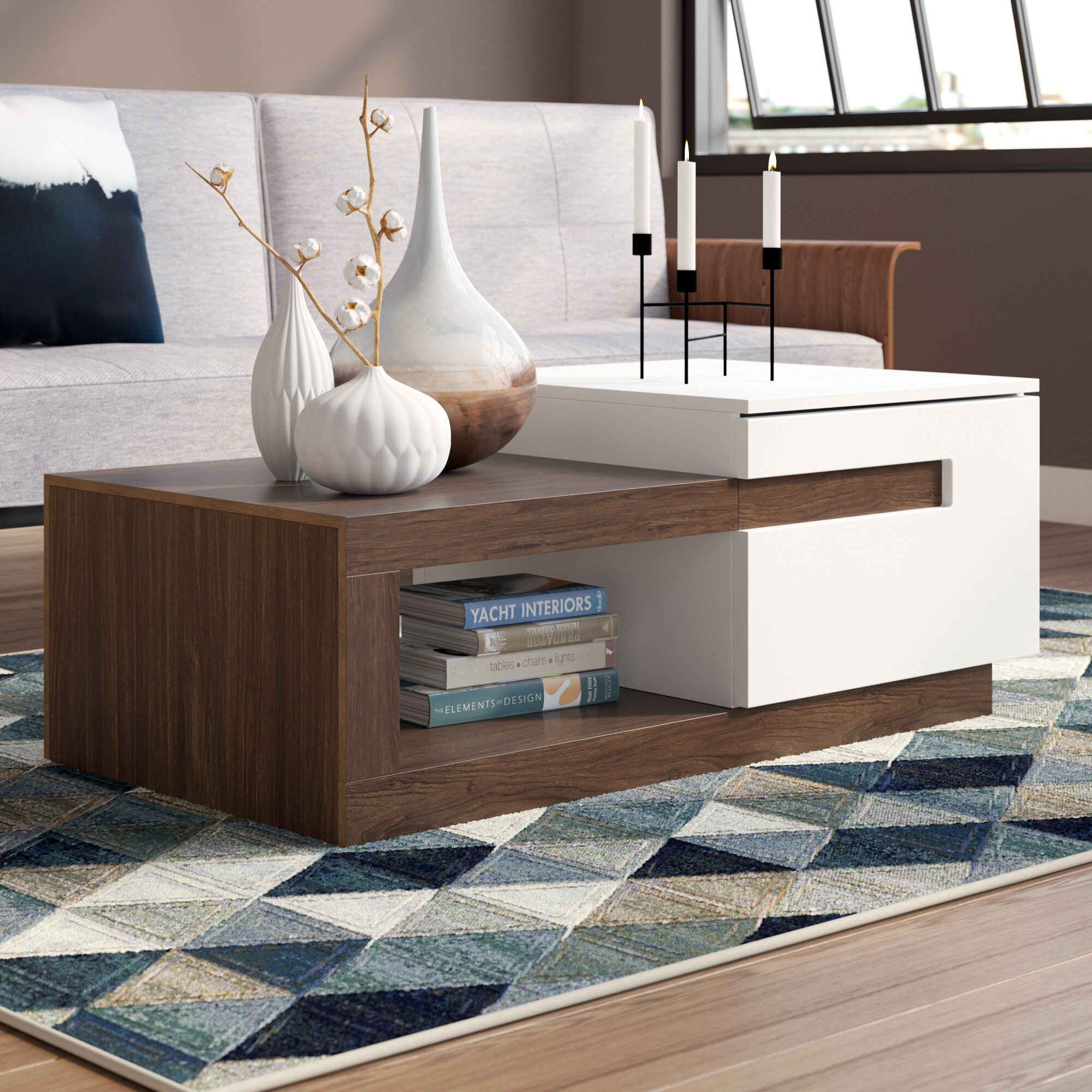 Urban designs kashmir coffee table wayfair co uk