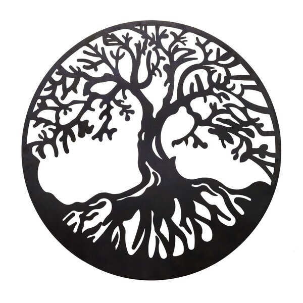 Tree Of Life Metal Wall Decor | Wayfair