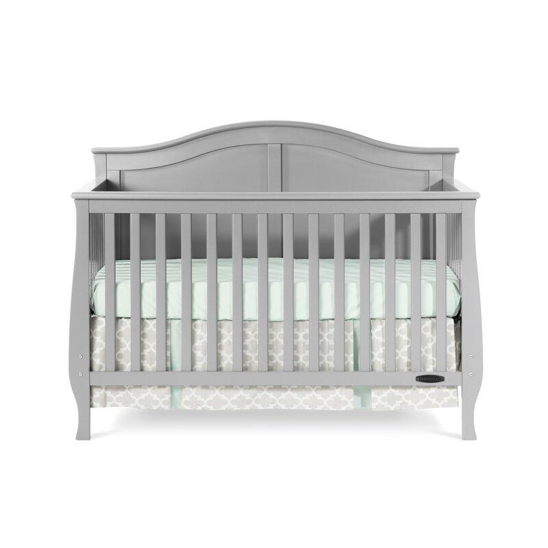 Child craft camden 4 in 1 convertible crib reviews wayfair for Child craft convertible crib instructions