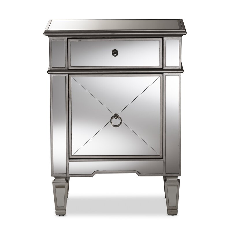 Mirrored Nightstands