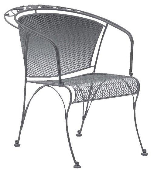 Woodard Briarwood Coil Spring Patio Chair Reviews Wayfair