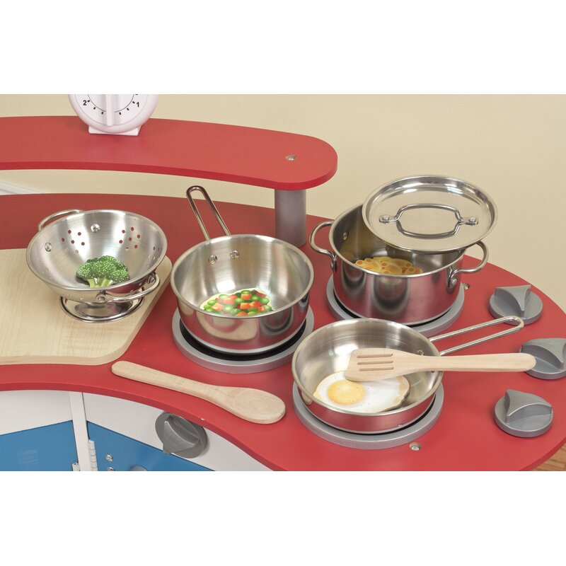 c8b120781038 Melissa & Doug Let's Play House! 8 Piece Pot and Pan Play Set ...