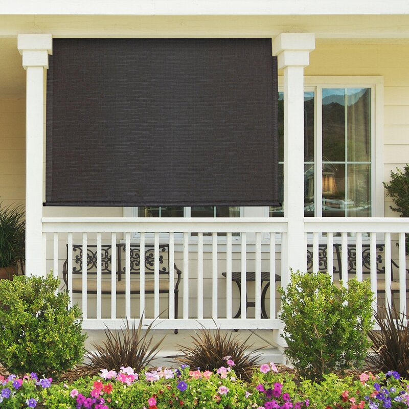 Heavy Duty Semi Sheer Outdoor Roller Shade