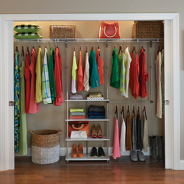 Closetmaid 53w Closet System Reviews Wayfair