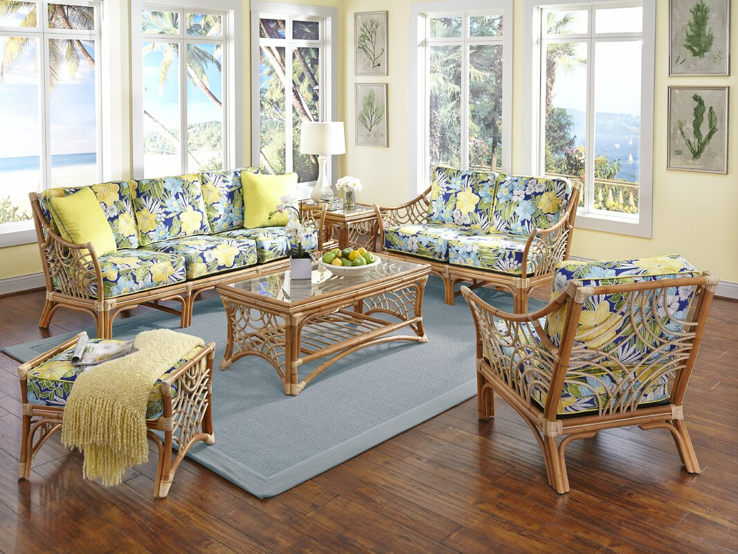 Spice Islands Bali 6 Piece Living Room Set Reviews Wayfair