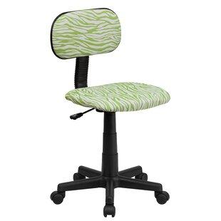 Genial Leopard Print Desk Chair | Wayfair