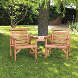 Gartenbank Grintovec Alcove aus Holz von Home Etc