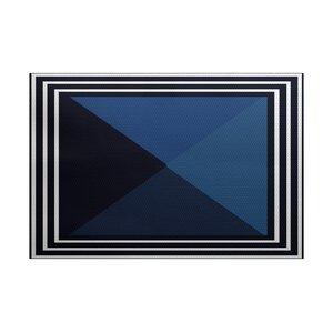 Bartow Blue Indoor/Outdoor Area Rug