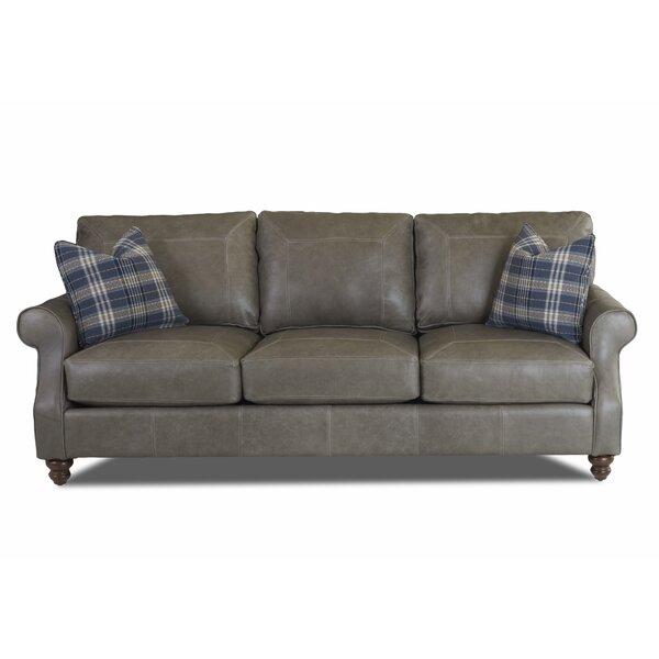 Extra Large Leather Sofa | Wayfair