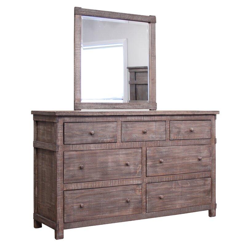 San Angelo 7 Drawer Dresser