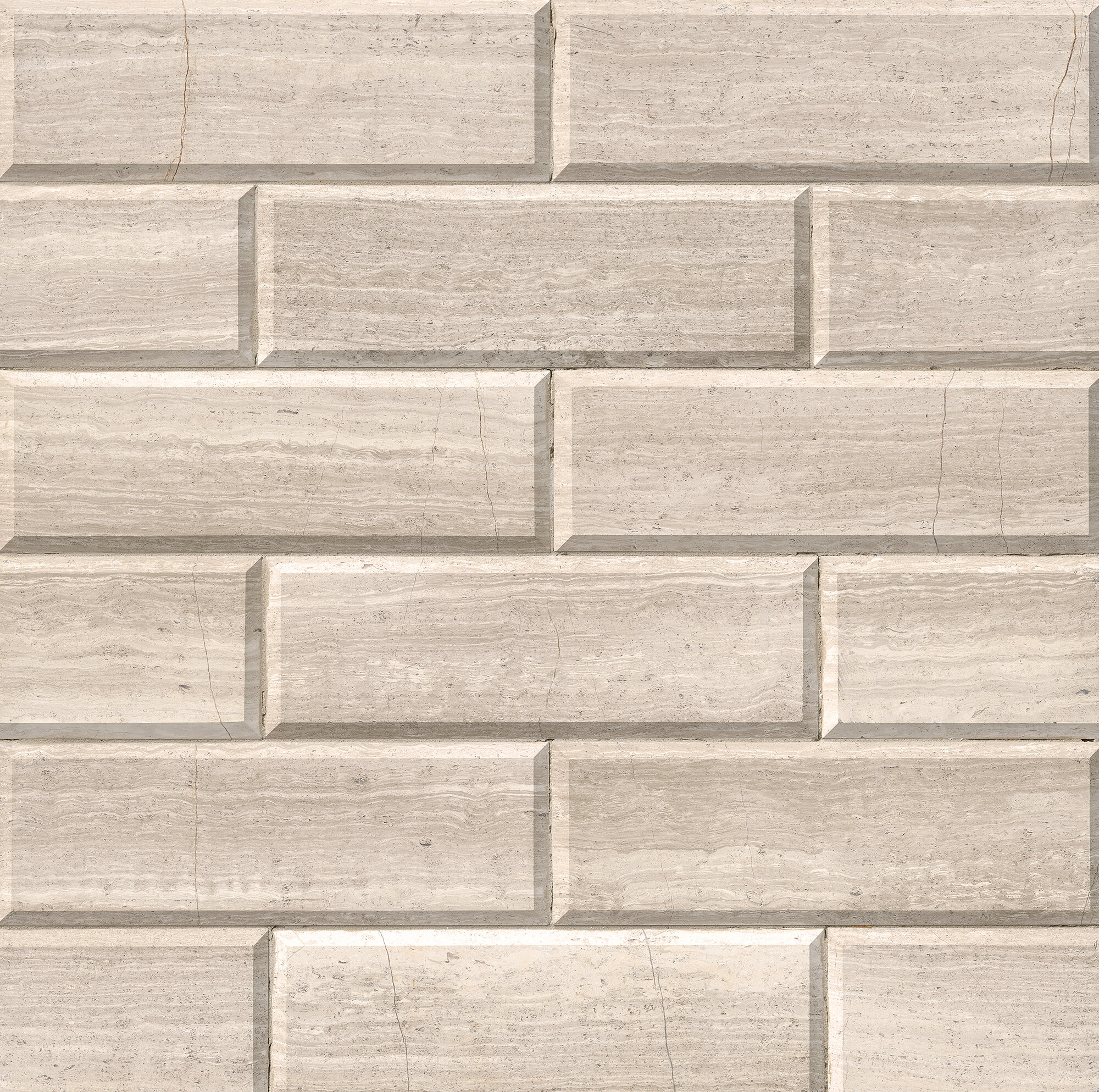 Msi Honed And Big Beveled 4 X 12 Marble Subway Tile In Ivory Wayfair