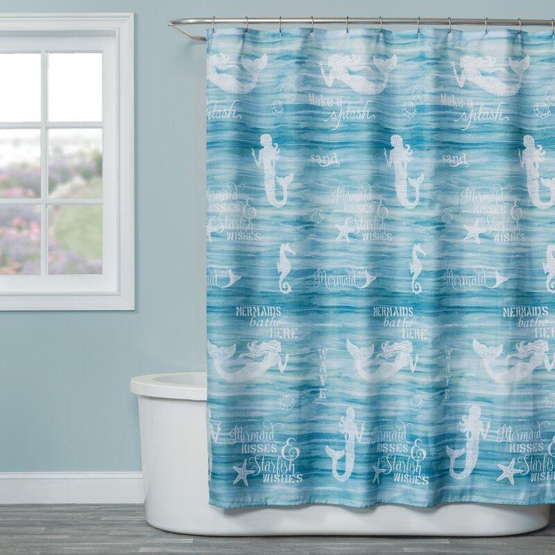 John Fabric Shower Curtain